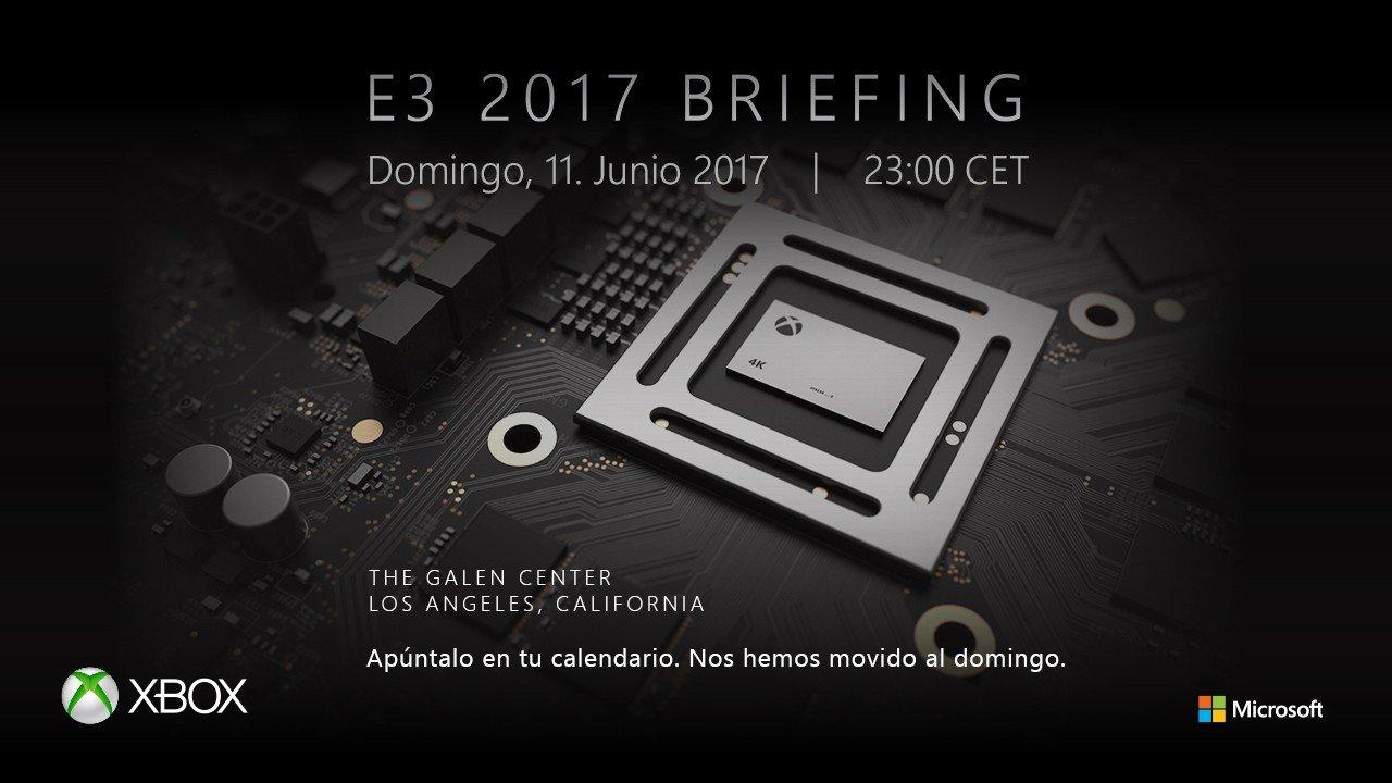 E3 2017: Xbox anuncia la fecha de su conferencia