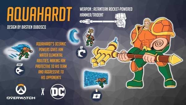 Overwatch: Así son los héroes de Blizzard si se mezclan con personajes de DC