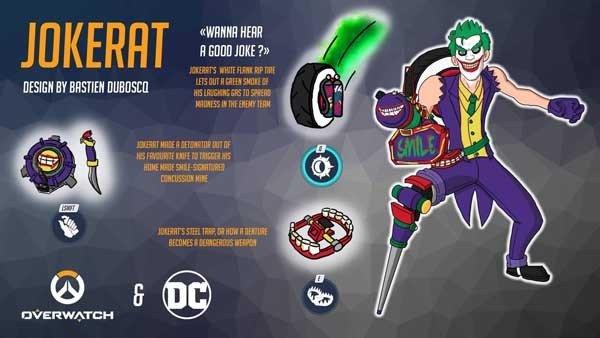 Overwatch: Fusionan los héroes de Blizzard con personajes de DC Comics
