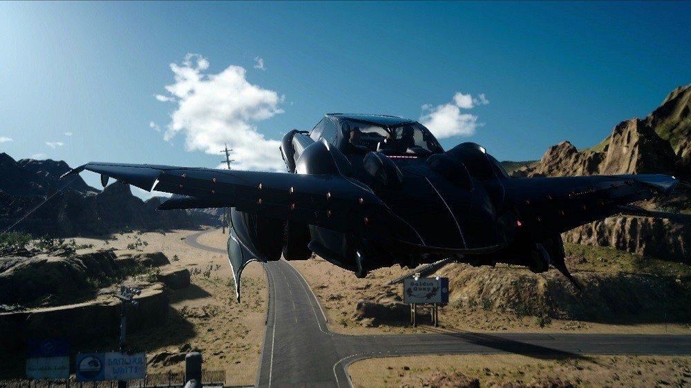 Final Fantasy XV: Cómo conseguir el Regalia volador