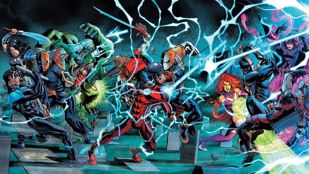 Deathstroke y los Teen Titans disfrutarán de un crossover