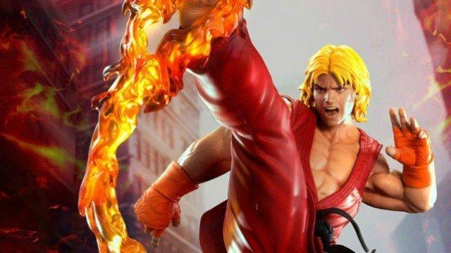 Street Fighter: Ken tiene esta detallada estatua de edición limitada