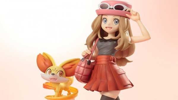 Pokémon: La espectacular figura de Selena y Fennekin ya se puede reservar