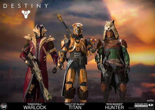Destiny presenta nuevas figuras de la marca McFarlane