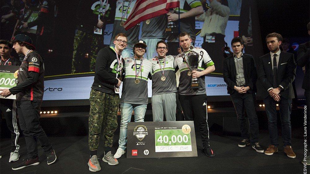 E-Sports: La CWL Paris Open concluye con la victoria de OpTic