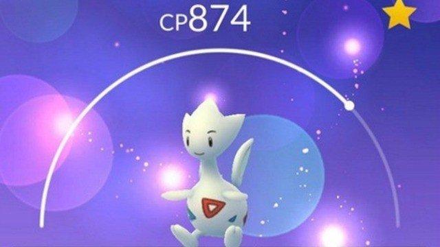 Pokémon GO: Niantic rebaja levemente la dificultad de captura de Togetic