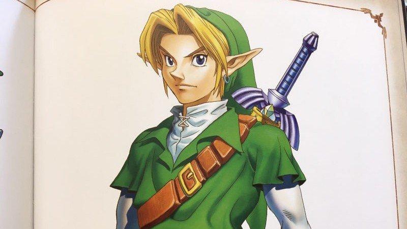 The Legend of Zelda: El Link de Ocarina of Time se basó en un famoso actor
