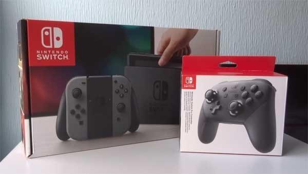 Nintendo Switch: Unboxing de la consola y el mando Pro