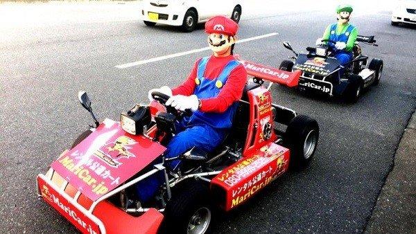 Una empresa de karting es demandada por Nintendo a causa de sus similitudes con Mario Kart