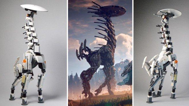 Horizon: Zero Dawn: Así se construye una de sus criaturas con LEGO