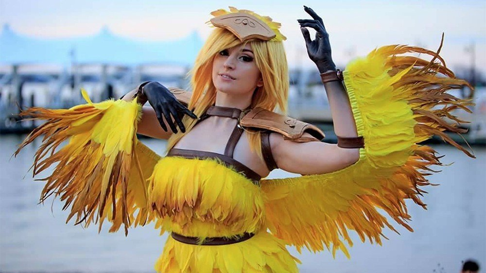 Final Fantasy: Este cosplay transforma a un chocobo en una persona real