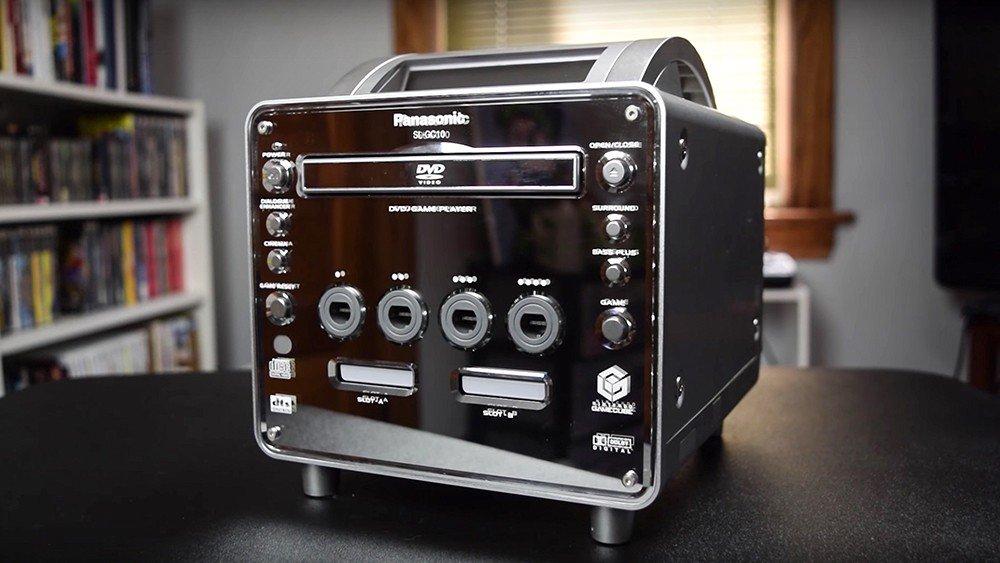 Panasonic Q: La máquina que combinaba la GameCube de Nintendo y un lector de DVDs