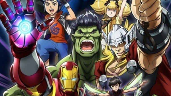 Los Vengadores estrenarán un nuevo anime en Japón este verano