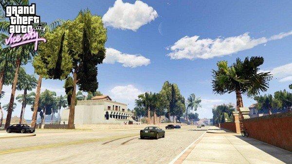 Crean un mod que nos permite visitar  Vice City en Grand Theft Auto V