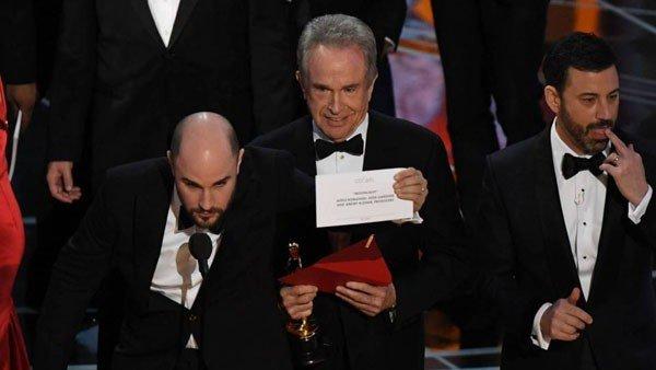 Oscar 2017: El motivo que propició el error que marcó la gala