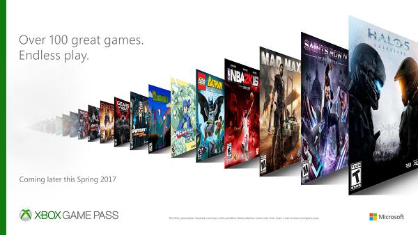 Microsoft presenta su nuevo servicio, Xbox Game Pass