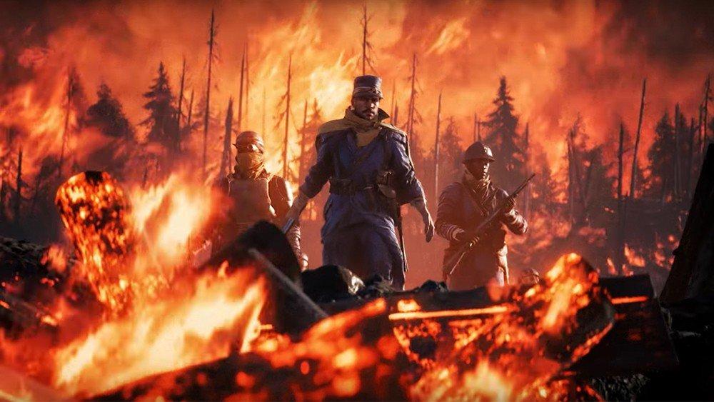 La batalla de Verdún se deja ver en un nuevo gameplay del DLC They Shall Not Pass de Battlefield 1
