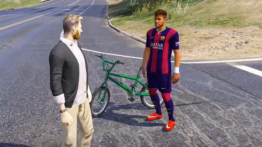 Grand Theft Auto V: Messi y Neymar pasearán por Los Santos con este mod
