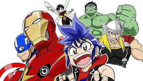 Marvel estrenará un nuevo anime titulado Future Avengers