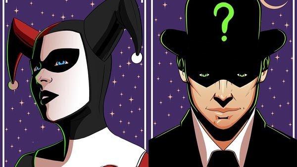 DC Cómics: Los villanos se convierten en los símbolos del Zodiaco en estos fanarts