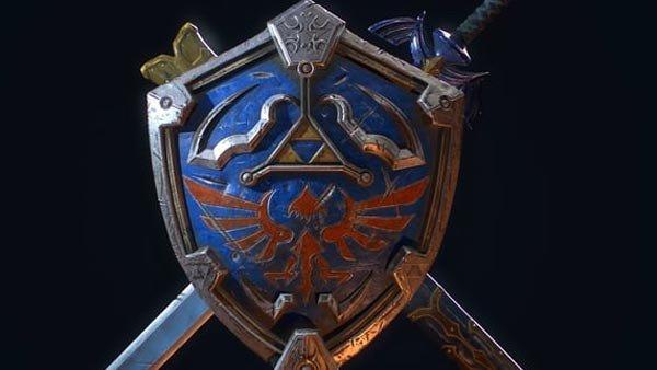 The Legend of Zelda: Un diseñador recrea el escudo hyliano y la espada maestra