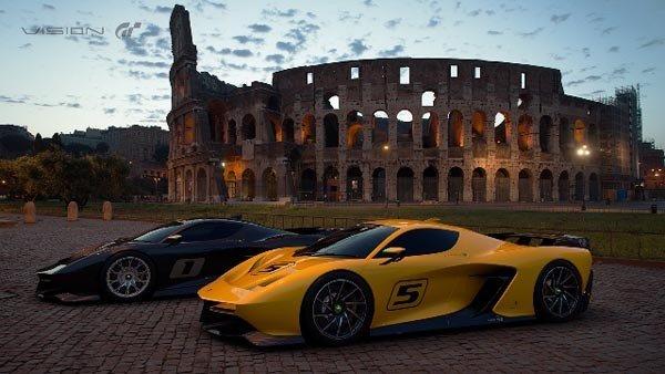 Gran Turismo Sport: Desvelado el Fittipaldi EF7 Vision Gran Turismo