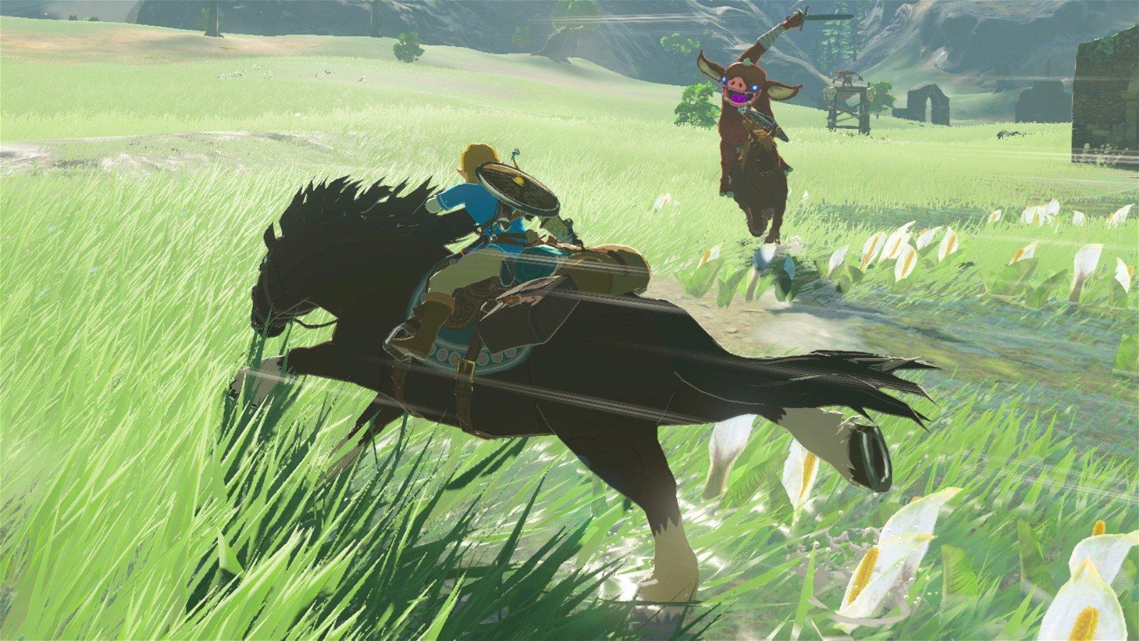 Zelda: Breath of the Wild tiene un curioso secreto relacionado con uno de sus caballos