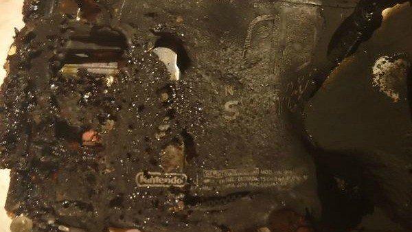 Una Switch achicharrada en el microonda puede ser tuya por 1.600 dólares