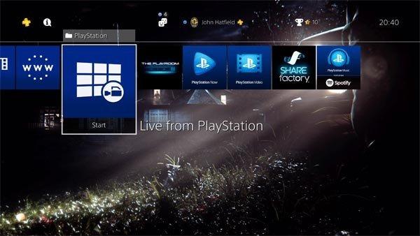 PlayStation 4 ya tiene nuevo firmware, y esto es lo que lleva