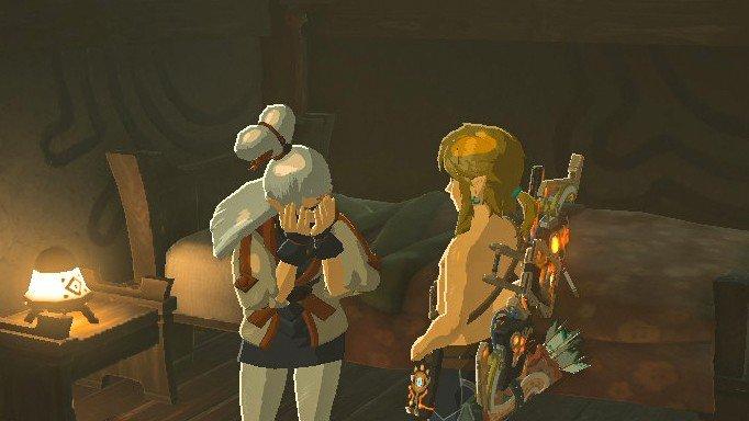 The Legend of Zelda: Las reacciones más hilarantes a la desnudez de Link en Breath of the Wild