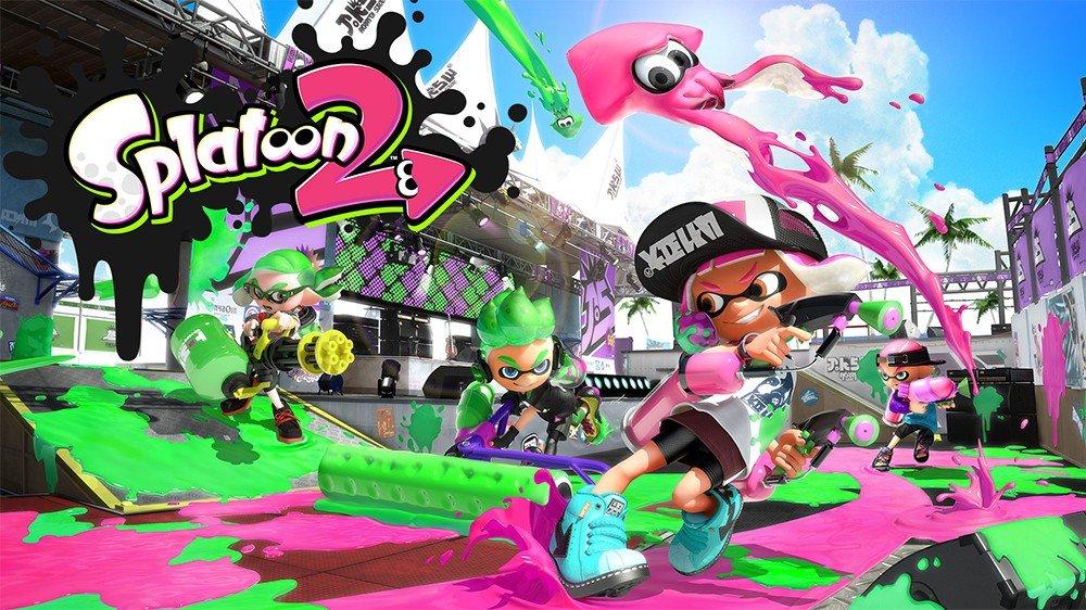 Splatoon 2 desvela el tamaño que ocupará en Nintendo Switch