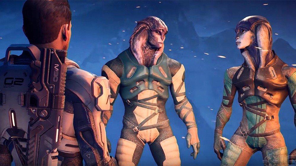 Mass Effect: Andromeda explora tres planetas en un nuevo vídeo