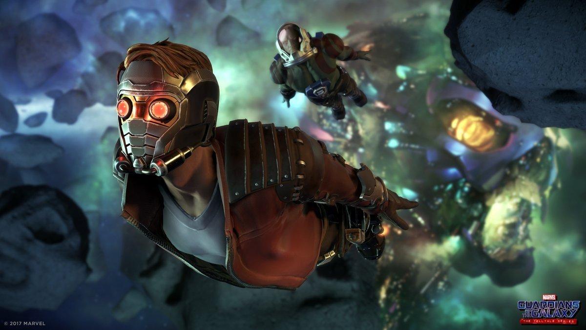 Guardianes de la Galaxia: El juego de Telltale comparte sus primeras imágenes in game