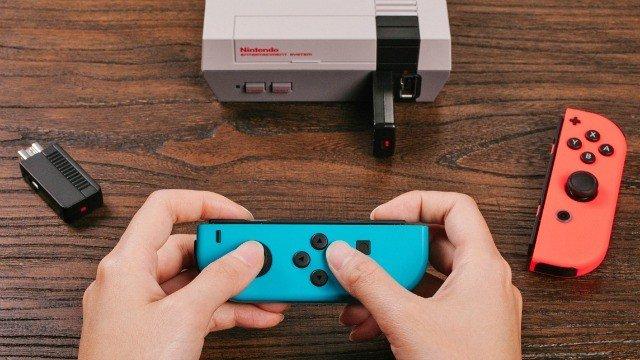 Nintendo Switch: Los Joy-Con también funcionan con la NES Mini