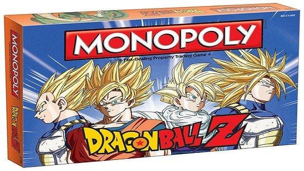 Dragon Ball Z lanza su Monopoly oficial
