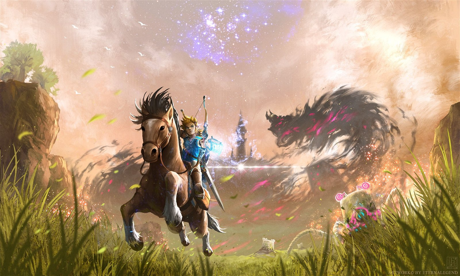 The Legend Zelda: Breath of the Wild y Skyrim tienen todas estas similitudes