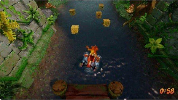 Crash Bandicoot N. Sane Trilogy muestra en su nuevo gamemplay una misión de Crash Bandicoot 2