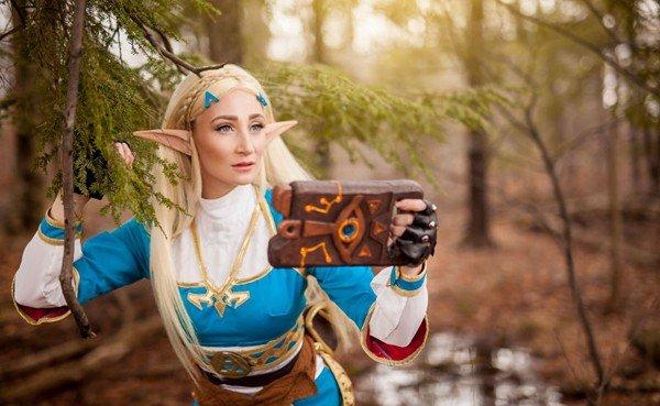 The Legend of Zelda: Breath of the Wild presenta un estupendo cosplay de la princesa Zelda