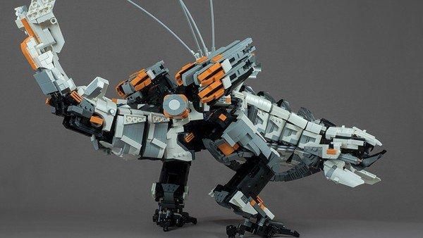 Horizon: Zero Dawn: Recrean a una de sus máquinas con piezas de LEGO