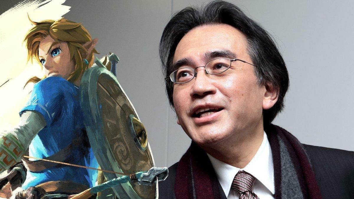 The Legend of Zelda: Breath of the Wild rinde tributo a Satoru Iwata de una curiosa forma