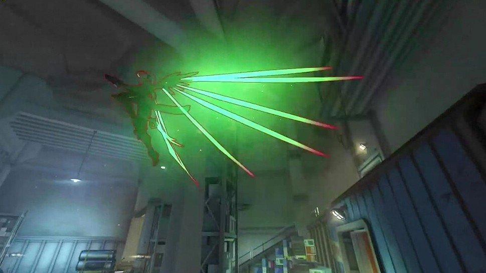 Overwatch ilumina las alas de Mercy con un glitch