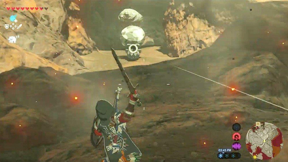 The Legend of Zelda: Breath of the Wild mejora la espada de Link con un sencillo truco