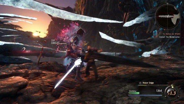 Final Fantasy XV: Episode Gladiolus revela el enfrentamiento contra el Gilgamesh