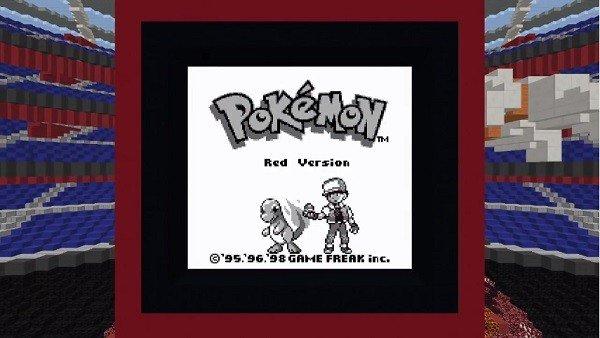 Minecraft cuenta con una reproducción de Pokémon Rojo