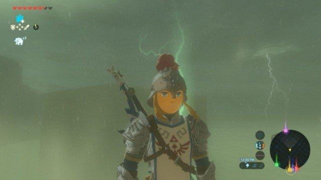 The Legend of Zelda: Breath of the Wild tiene en el clima a uno de sus peores monstruos