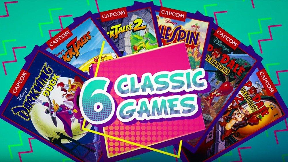 Capcom anuncia The Disney Afternoon Collection, una recopilación de videojuegos retro