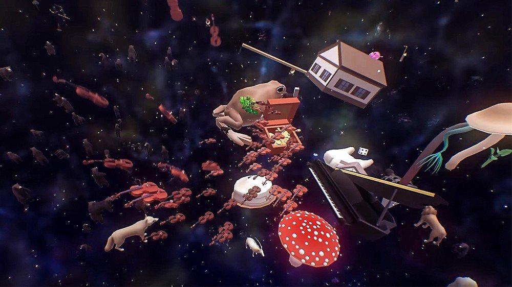 Everything, el surrealista videojuego que te permitirá transformarte en cualquier cosa
