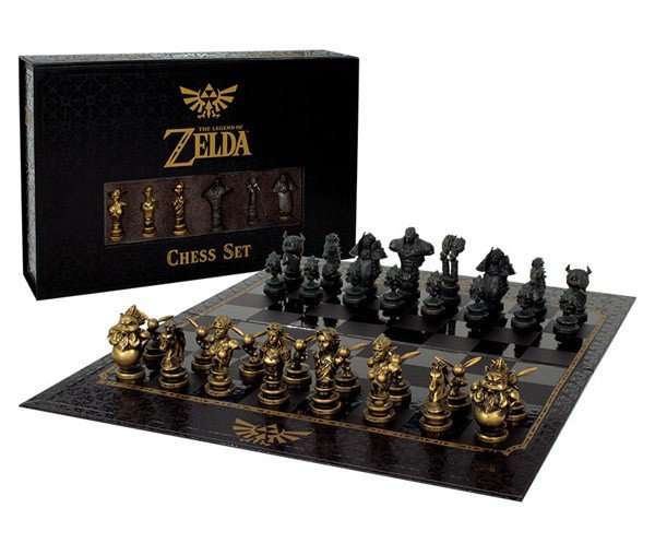 The Legend of Zelda presenta su espectacular ajedrez