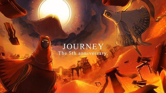 Journey cumple cinco años y PlayStation lo celebra con los fans