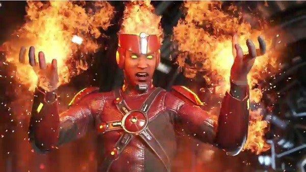 Injustice 2 presenta a Firestorm en su nuevo tráiler